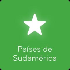 Respuestas 94% Países de Sudamérica