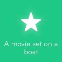 A movie set on a boat 94