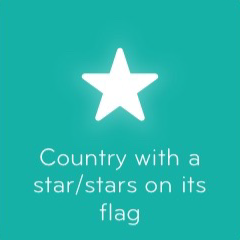 Country with a stars on its flag 94