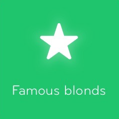 Famous blonds 94