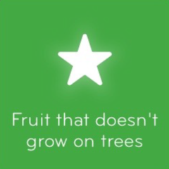 Fruit that doesn't grow on trees 94