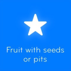 Fruit with seeds or pits 94