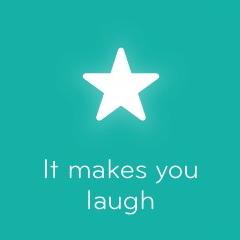 It makes you laugh 94