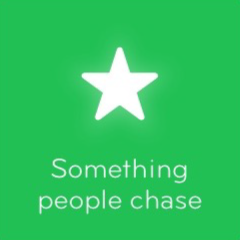 Something people chase 94