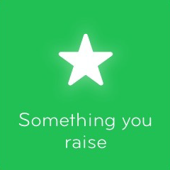 Something you raise 94