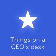 Things on a CEO's desk 94