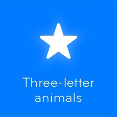 Three letter animals 94