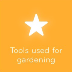 Tools used for gardening 94