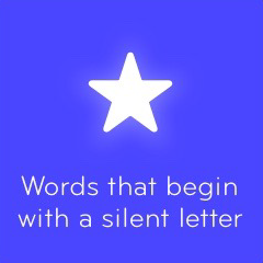Words that begin with a silent letter 94