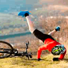 94% bike fall picture answers