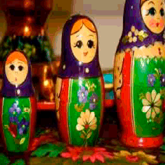 94 Russian dolls picture