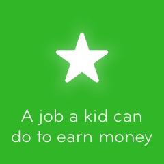 A job a kid can do to earn money 94