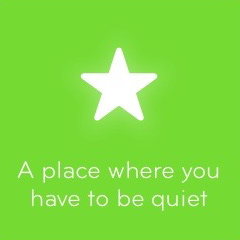 A place where you have to be quiet 94