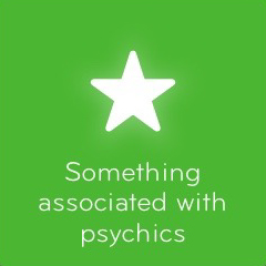 Something associated with psychics 94