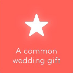 A common wedding gift 94