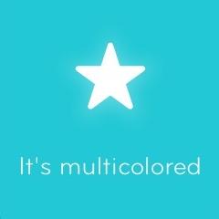 It's multicolored 94