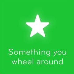 Something you wheel around 94