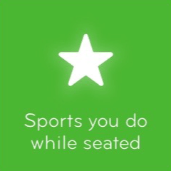 Sports you do while seated 94