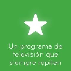 Un programa de televisión que siempre repiten 94%