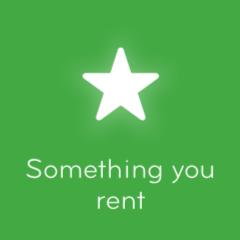 Something you rent 94