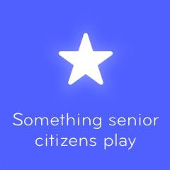 Something senior citizens play 94