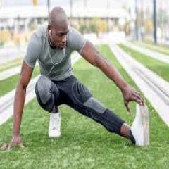 94 Respuestas imagen atleta estirando