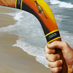 94 Respuestas imagen bumerán playa
