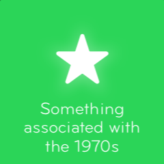 Something associated with the 1970s 94