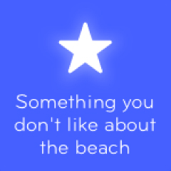 Something you don´t like about the beach 94