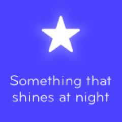 Something that shines at night 94