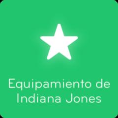 Respuestas 94% Equipamiento de Indiana Jones