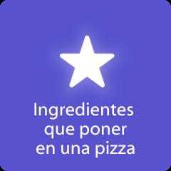 Respuestas 94 Ingredientes que poner en una pizza
