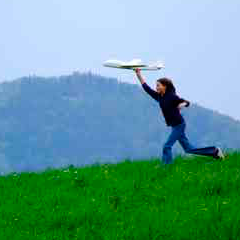 94 Respuestas imagen jugando con avión