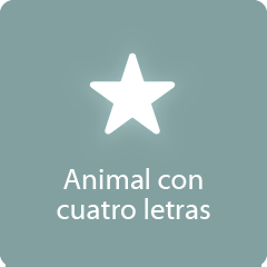 Animal con cuatro letras 94