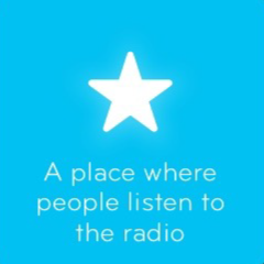 A place where people listen to the radio 94