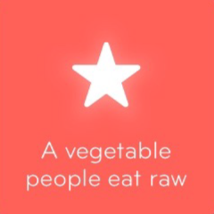 A vegetable people eat raw 94