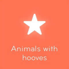 Animals with hooves 94