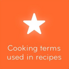 Cooking terms used in recipes 94