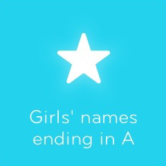 Girls names ending in A 94
