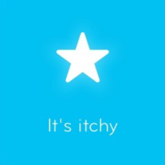 It's itchy 94