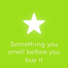 Something you smell before you buy it 94