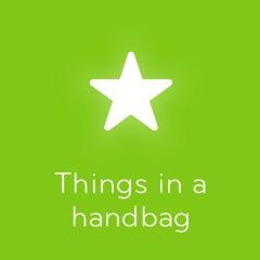 Things in a handbag 94