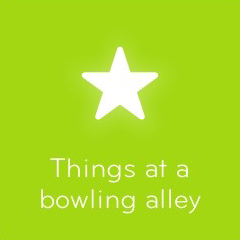 Things at a bowling alley 94