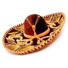 94 Mexican hat picture