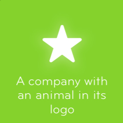 A company with an animal in its logo 94