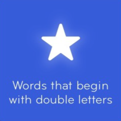 Words that begin with double letters 94