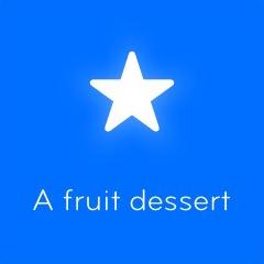 A fruit dessert 94