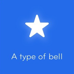 A type of bell 94
