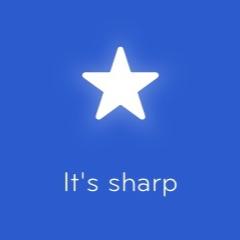 It's sharp 94