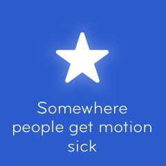 Somewhere people get motion sick 94